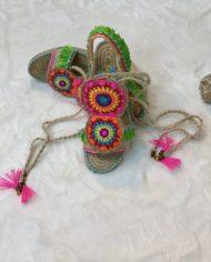 2010000147 Sandalia Baja Crochet, ropa boho kimscut collection(1)