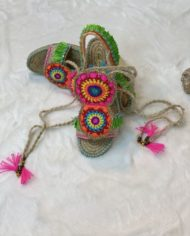 2010000147 Sandalia Baja Crochet, ropa boho kimscut collection(2)