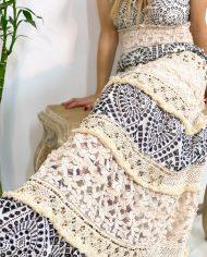 2010000495 Vestido Bordado Largo B&W. ropa boho chic kimscut collection (12)