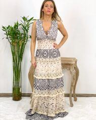 2010000495 Vestido Bordado Largo B&W. ropa boho chic kimscut collection (18)