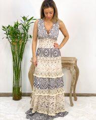 2010000495 Vestido Bordado Largo B&W. ropa boho chic kimscut collection (3)