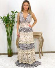 2010000495 Vestido Bordado Largo B&W. ropa boho chic kimscut collection (5)
