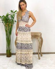 2010000495 Vestido Bordado Largo B&W. ropa boho chic kimscut collection (8)
