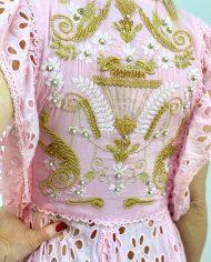 2010000498 Vestido Largo Bordado rosa. Ropa boho chic kimscut collection (15)