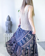 2010000739 Falda seda boho chic kimscut collection ( (3)