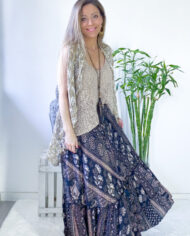 2010000739 Falda seda boho chic kimscut collection ( (5)