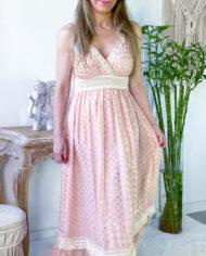 2010000787 Vestido Detalle Pecho rosa boho chic kimscut collection (12)