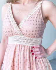 2010000787 Vestido Detalle Pecho rosa boho chic kimscut collection (13)