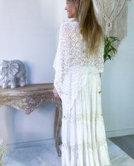 2010000800 Falda blonda blanca boho chic kimscut collection ( (18)