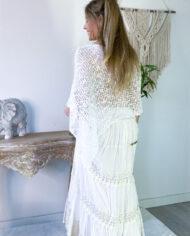 2010000800 Falda blonda blanca boho chic kimscut collection ( (19)