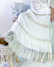 2010000800 Falda blonda blanca boho chic kimscut collection ( (22)