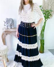2010000801 Falda blonda negra boho chic kimscut collection ( (14)IMG_1643