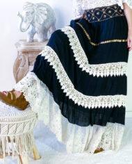 2010000801 Falda blonda negra boho chic kimscut collection ( (18)IMG_1643