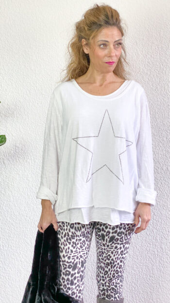 Camiseta boho chic Star