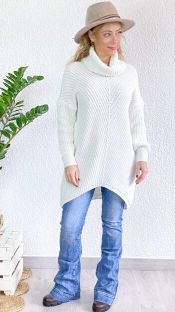 Jersey boho chic vilna blanco (3)