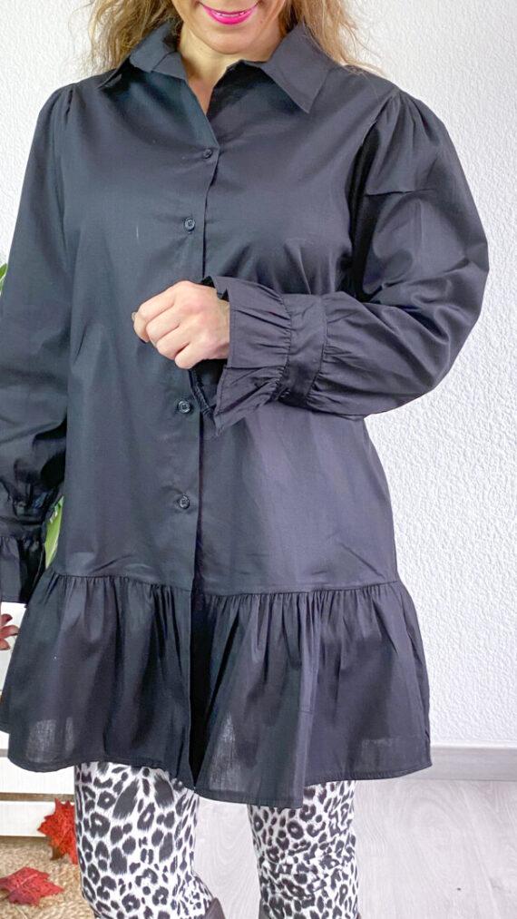 blusa boho chic missoula negra (