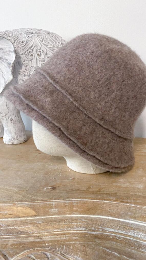 sombrero boho chic cocó marrón
