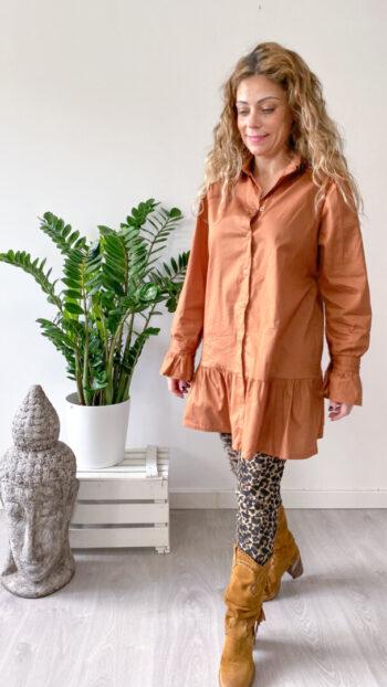 Blusa Missoula Camel