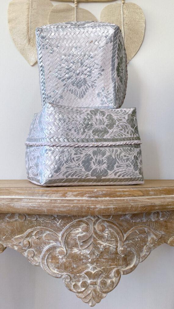 Caja boho chic silver