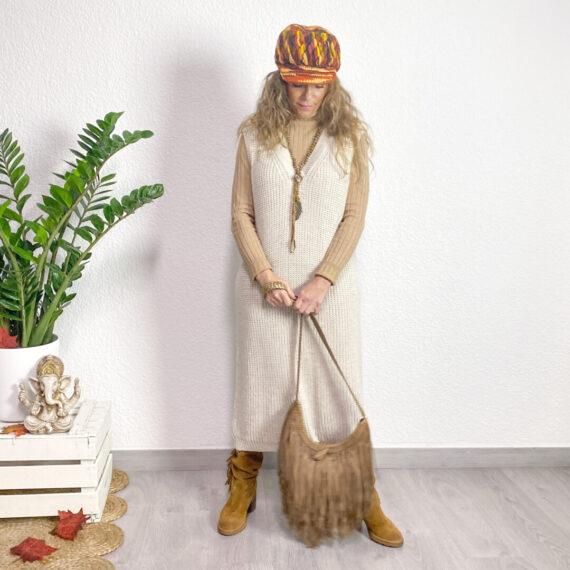 vestido boho chic Telma
