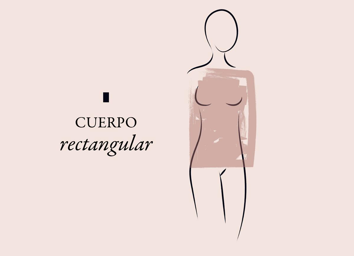 tipo de cuerpo rectangular